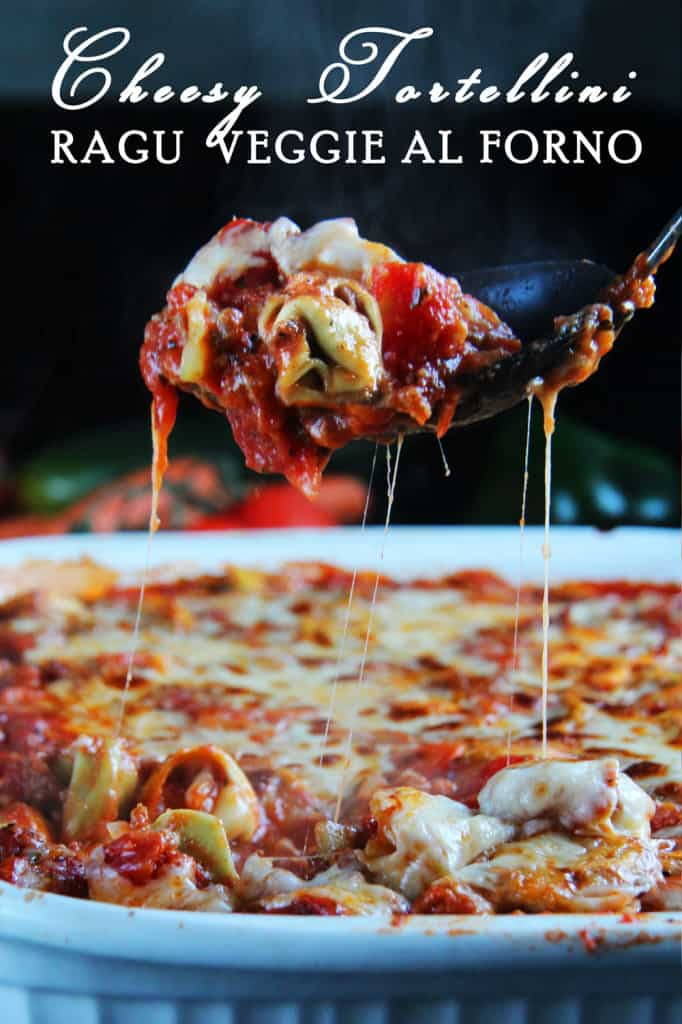 Cheesy Tortellini Ragu Veggie Al Forno (1)