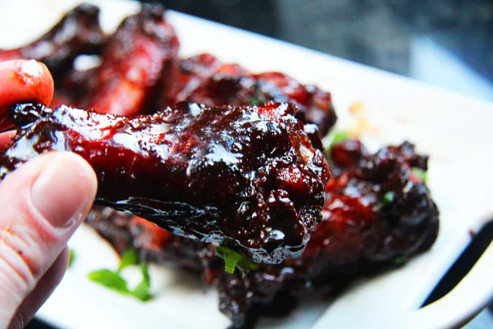 red chinese chicken wings recipe