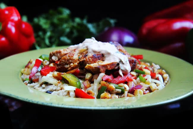 Honey-Lime-Chicken-Fajita-Bowls-with-Chipotle-Lime-Crema-08