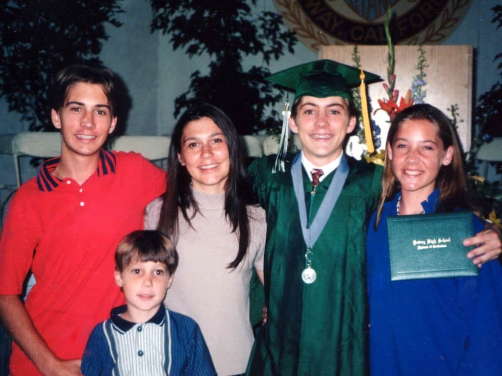 Justin Graduation