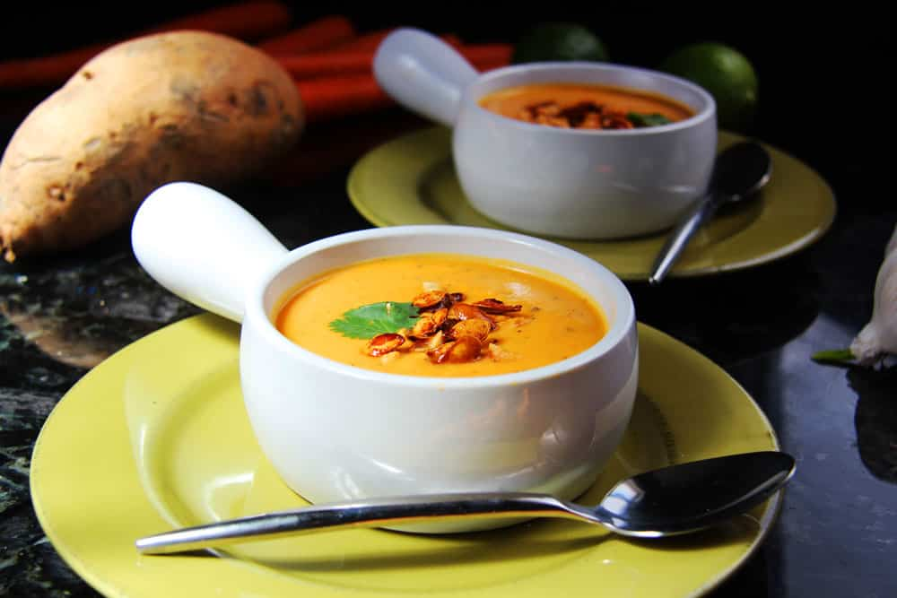 Roasted Butternut Squash And Sweet Potato Soup Recipes — Dishmaps
