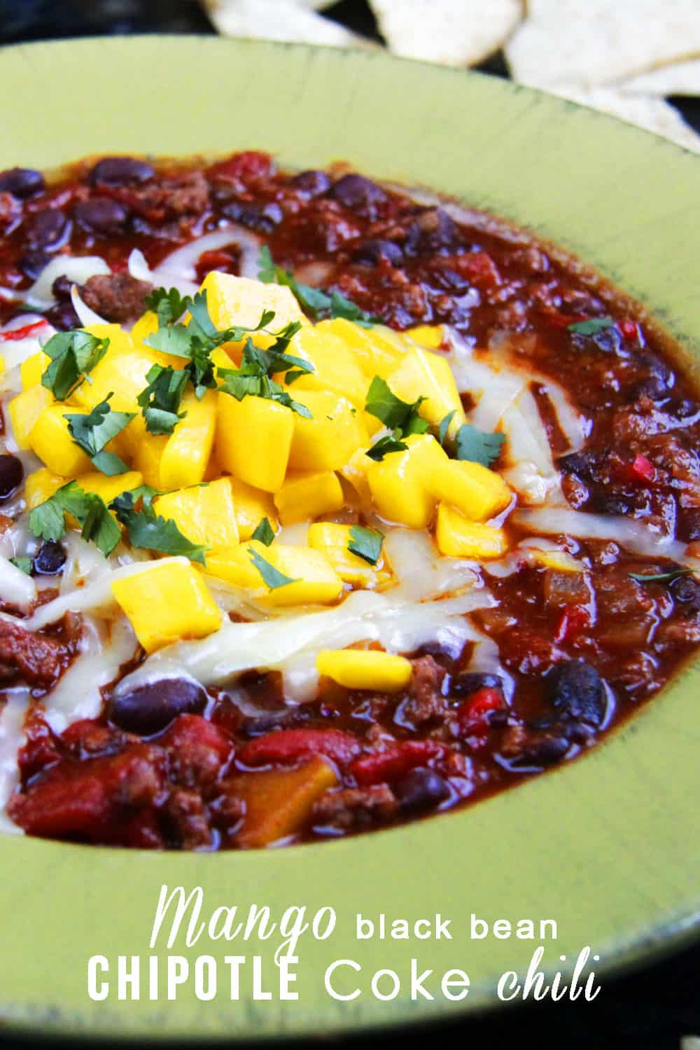 Chipotle Chicken, Mango and Black Bean Enchiladas - Carlsbad Cravings