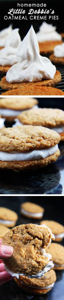 Better Than Original - Two large, soft, delicate, chewy, buttery, molasses oatmeal cookies sandwiching vanilla creme frosting filing. INSANELY DELICIOUS!