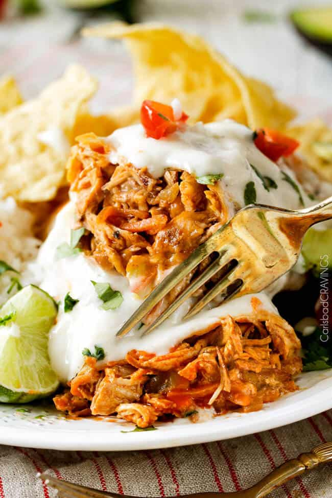 Smothered Buffalo Chicken Baked Burritos with Creamy Lime Ranch Sauce