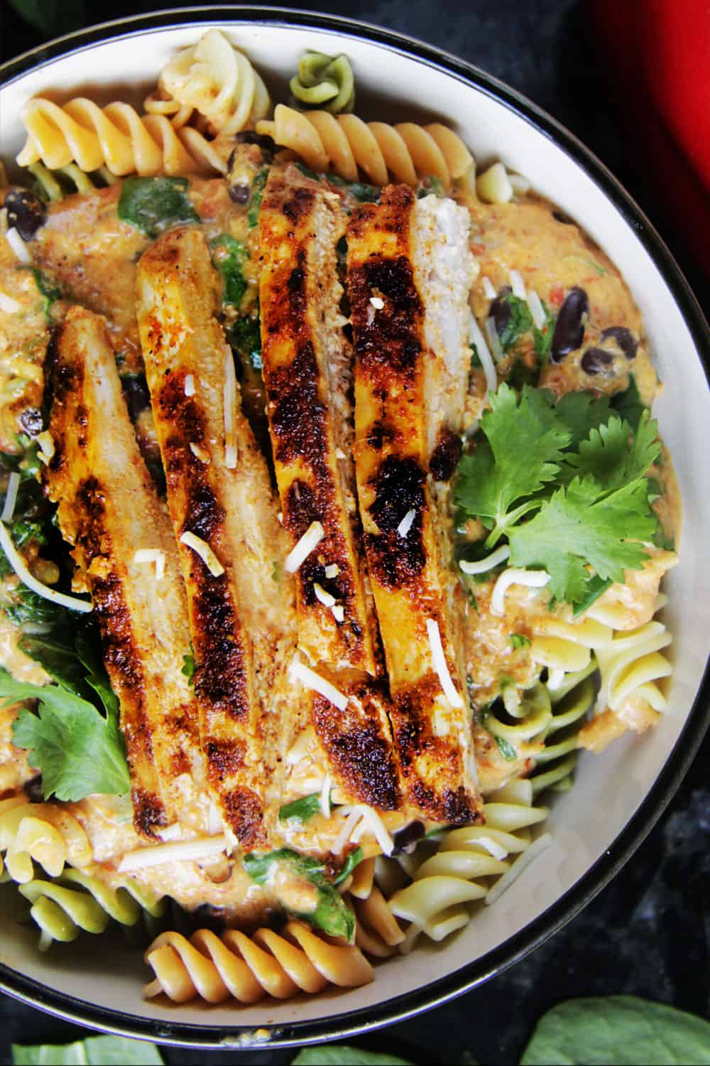 TexMex-Creamy-Roasted-Red-Pepper-Pasta-with-Blackened-Chipotle-Chicken-08
