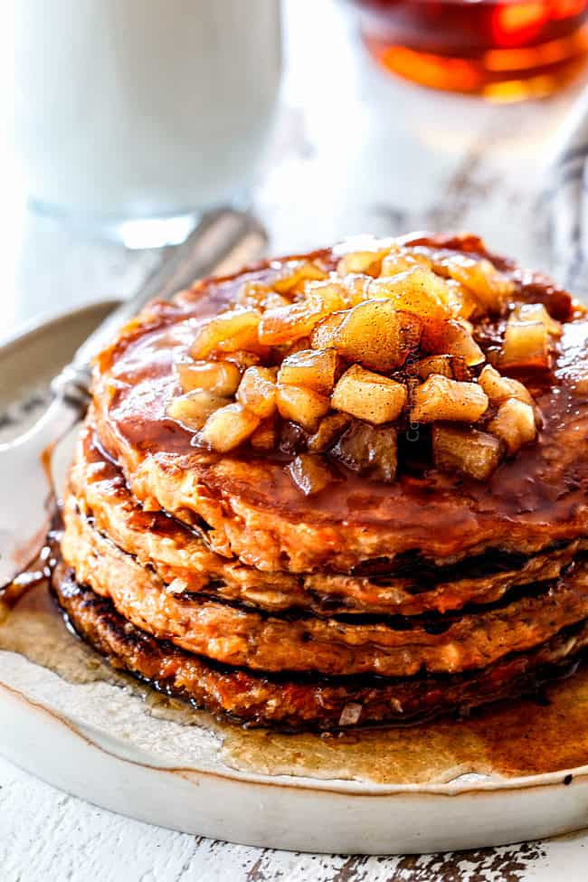 best apple syrup on top of pancakes