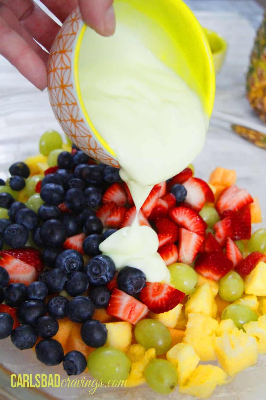 Chicken Fruit Salad Lettuce Wraps Carlsbad Cravings