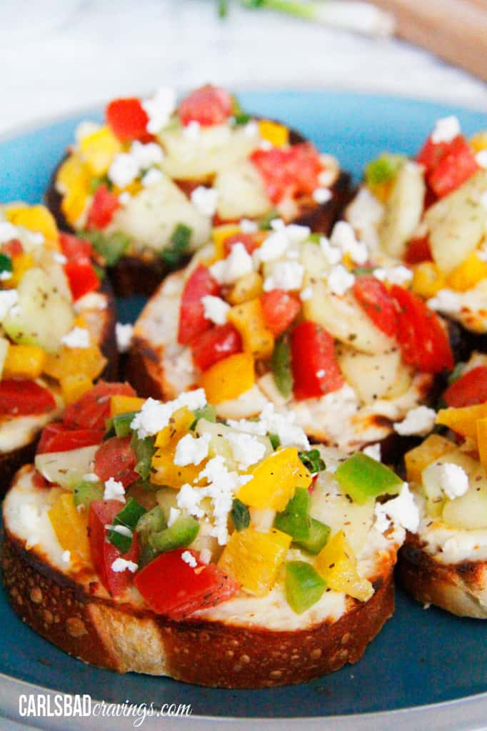 Toasted-Cream-Cheese-Feta-Bruschetta--14