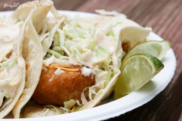 Guest Post: Crispy Fish Tacos with Creamy Creole Sauce