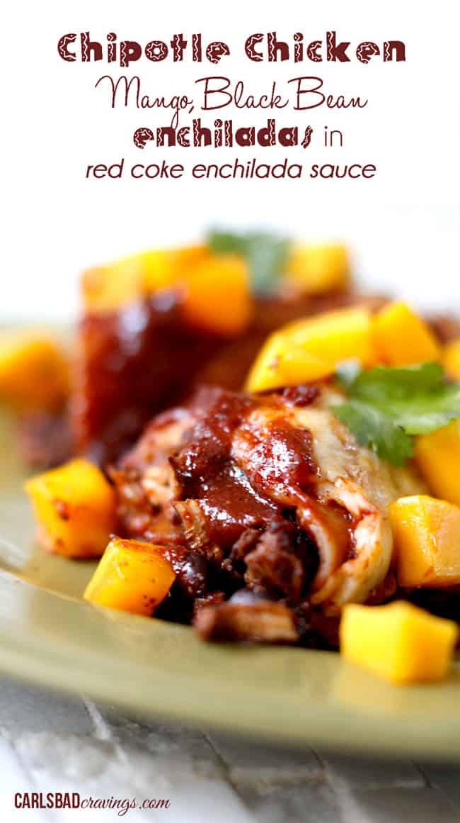 Chipotle-Chicken-Mango-Black-Bean-Enchiladas---main