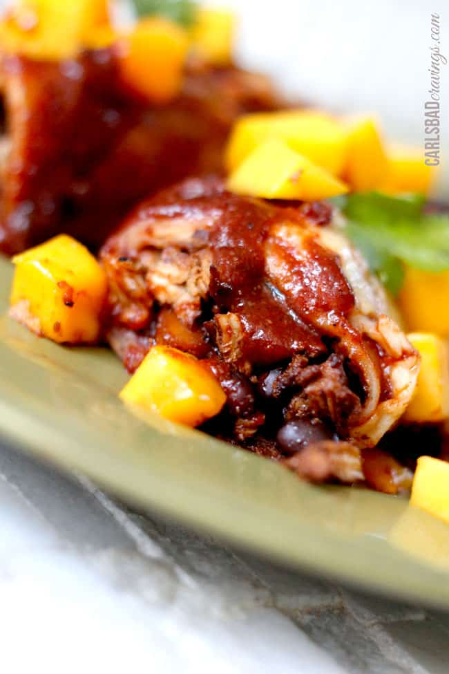 Chipotle-Chicken-Mango-Black-Bean-Enchiladas7