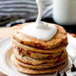 Fluffy S'mores Pancakes
