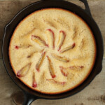 Plum Skillet Cake