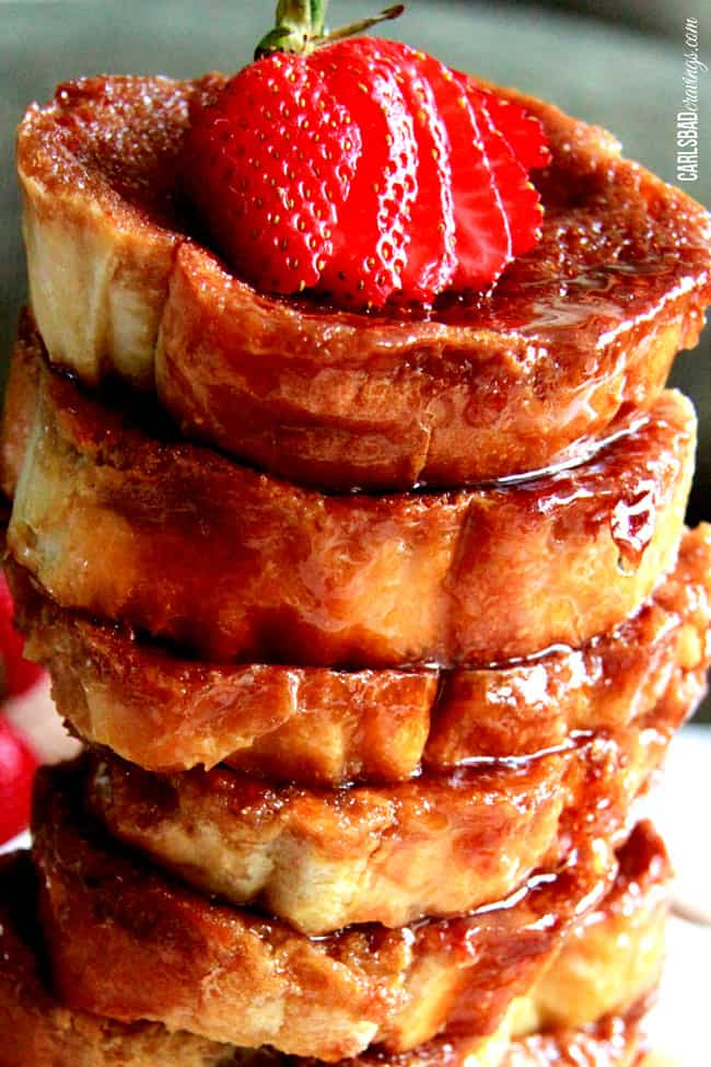 Overnight Creme Brulee French Toast - Carlsbad Cravings