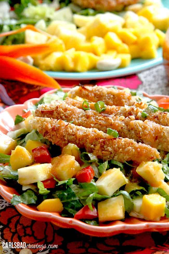 Crispy-Cashew-Coconut-Tropical-Chicken-Salad-with-Pineapple-Vinaigrette13