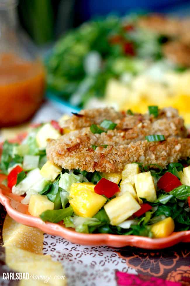 Crispy-Cashew-Coconut-Tropical-Chicken-Salad-with-Pineapple-Vinaigrette6