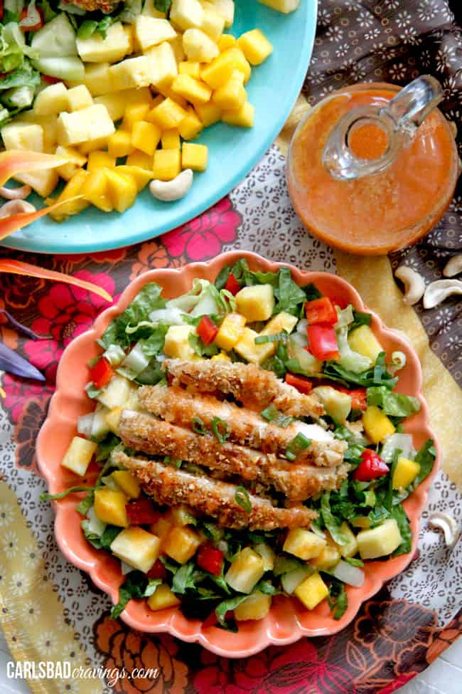 Crispy-Cashew-Coconut-Tropical-Chicken-Salad-with-Pineapple-Vinaigrette7