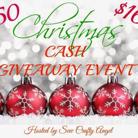 1650Christmas CASH  GIVEAWAY EVENT
