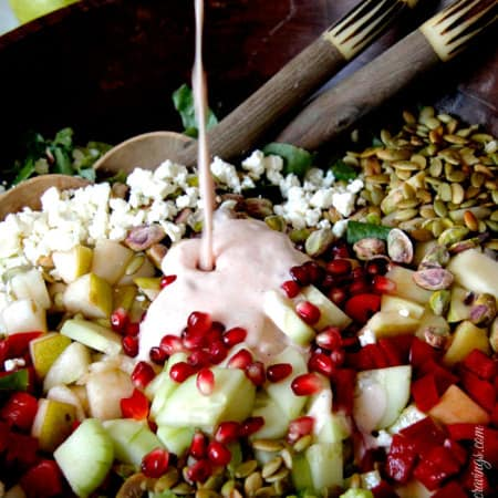 Pomegranate-Pistachio-Pear-Salad-with-Creamy-Sweet-Chili-Pomegrante-Dressing1