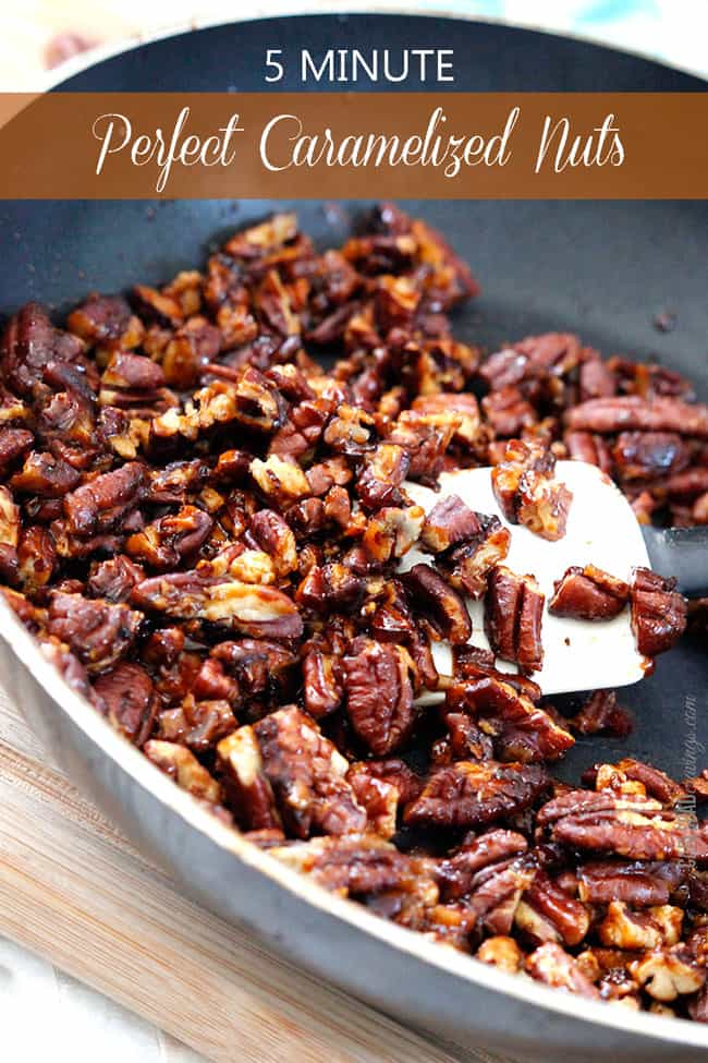 5 Minute Perfect Caramelized Nuts | Carlsbad Cravings