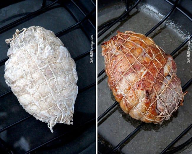 Asian-Coconut-Pomegranate-Lamb---making