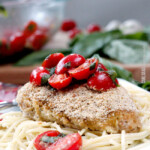 Whipped Feta Bruschetta Chicken