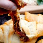3 Ingredient Bruschetta Mozzarella  Crescents