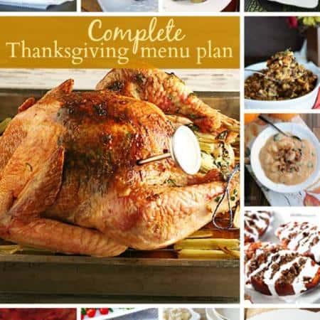 Thanksgiving MealPlan