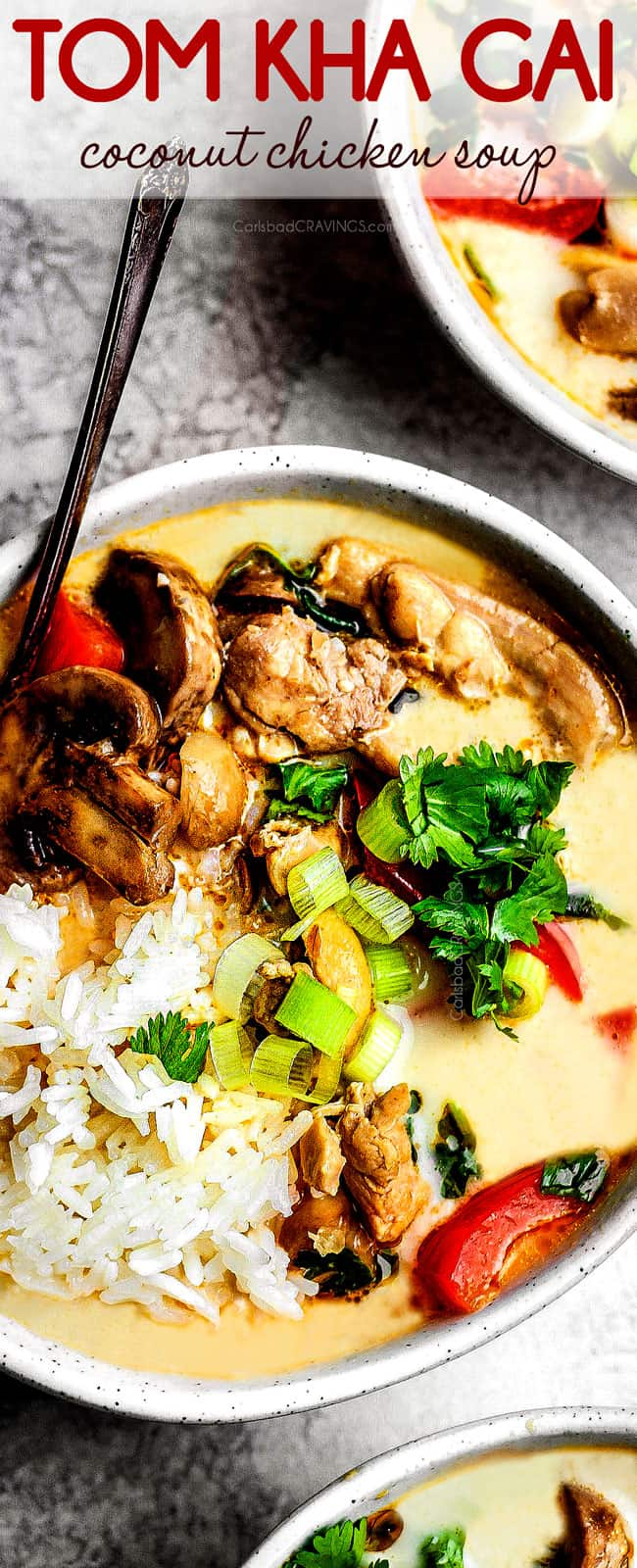BEST Tom Kha Gai (Coconut Curry Soup) (+ pantry friendly substitutions!)