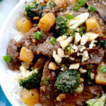 Thai Peanut Beef and Broccoli