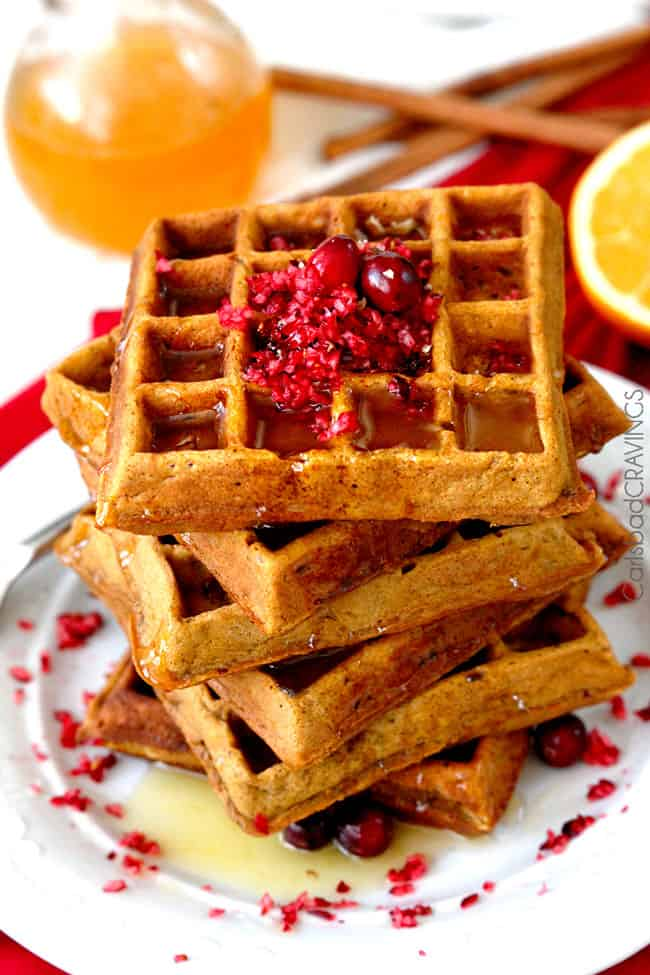 Gingerbread-Cranberry-Pecan-Waffles8