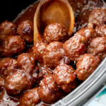 Cranberry Meatballs (Crockpot)
