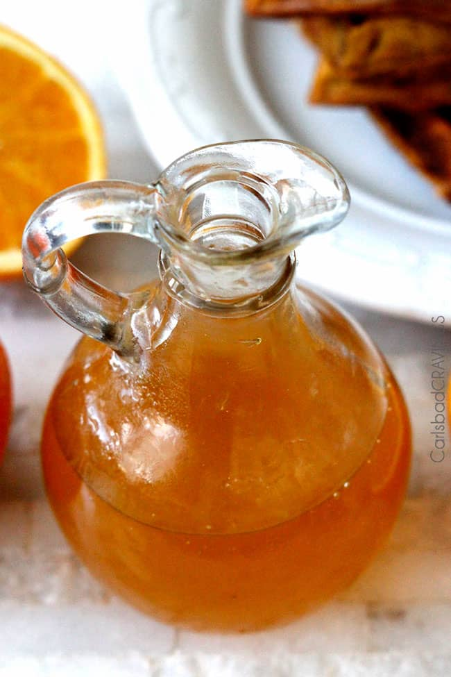 Easy Orange Syrup - Carlsbad Cravings