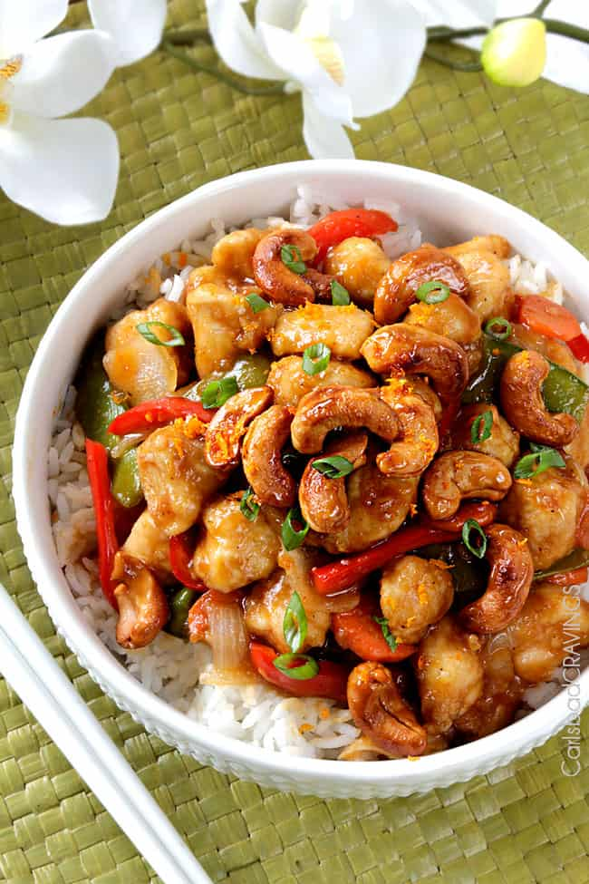 chicken spicy cashew chicken stir fry stir fried chicken with cashew ...