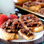French Toast Bake with Pecan Praline