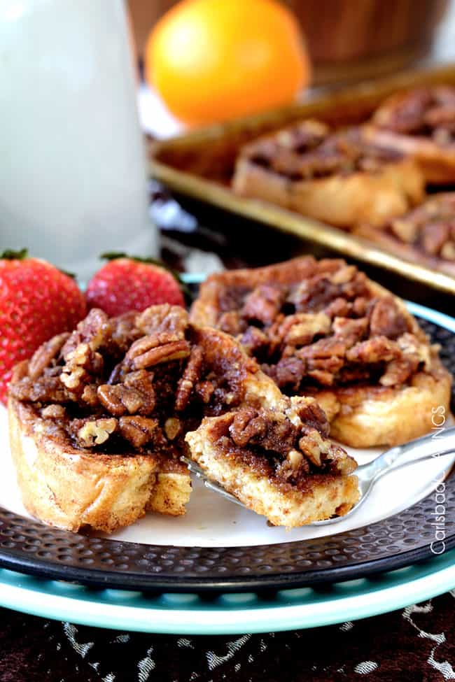 Overnight Pecan Praline French Toast | Carlsbad Cravings