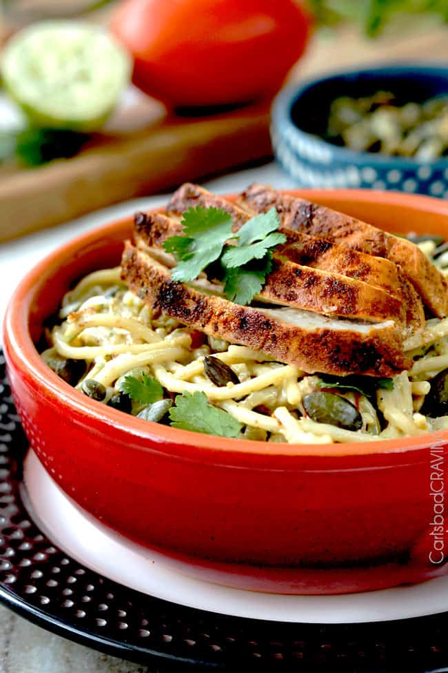 Avocado Pasta Recipe | Carlsbad Cravings