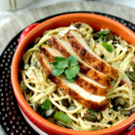 Avocado Pasta (with Chili Lime Chicken)
