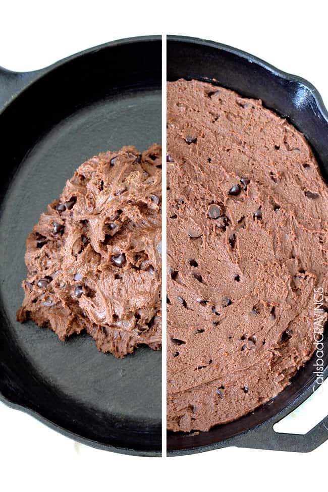 German-Chocolate-Cake-Cookie-Skillet1