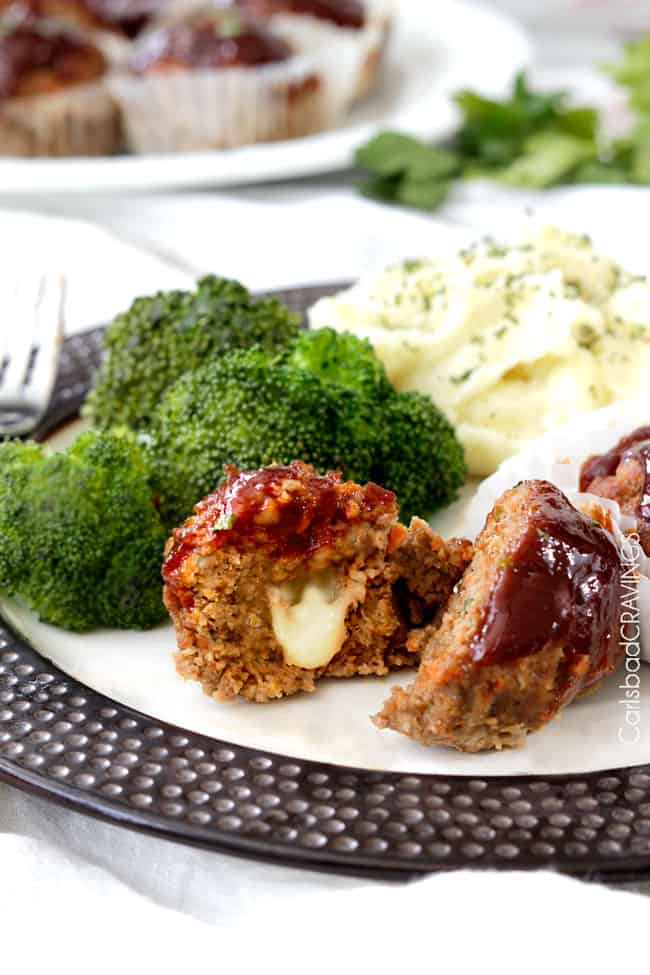 Meatloaf Muffins Recipe | Carlsbad Cravings