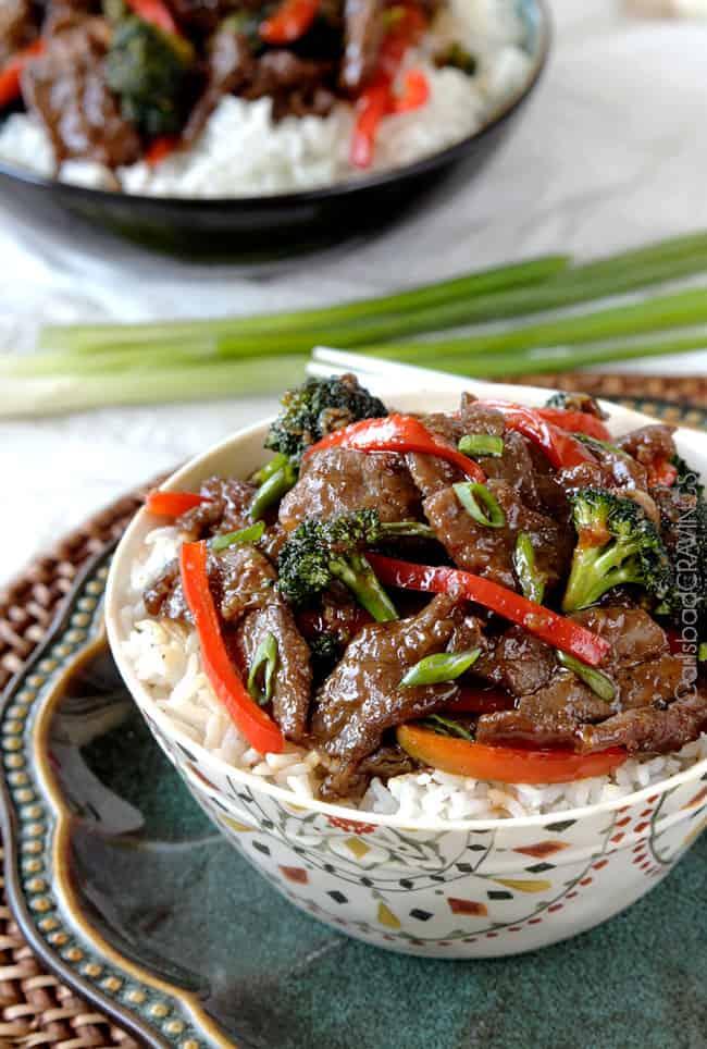 Mongolian Beef Stir-fry recipe