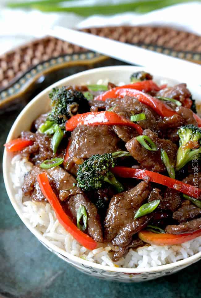 Mongolian Beef Recipe Broccoli