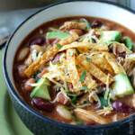 BBQ Chicken Chili (Slow Cooker or Stovetop)