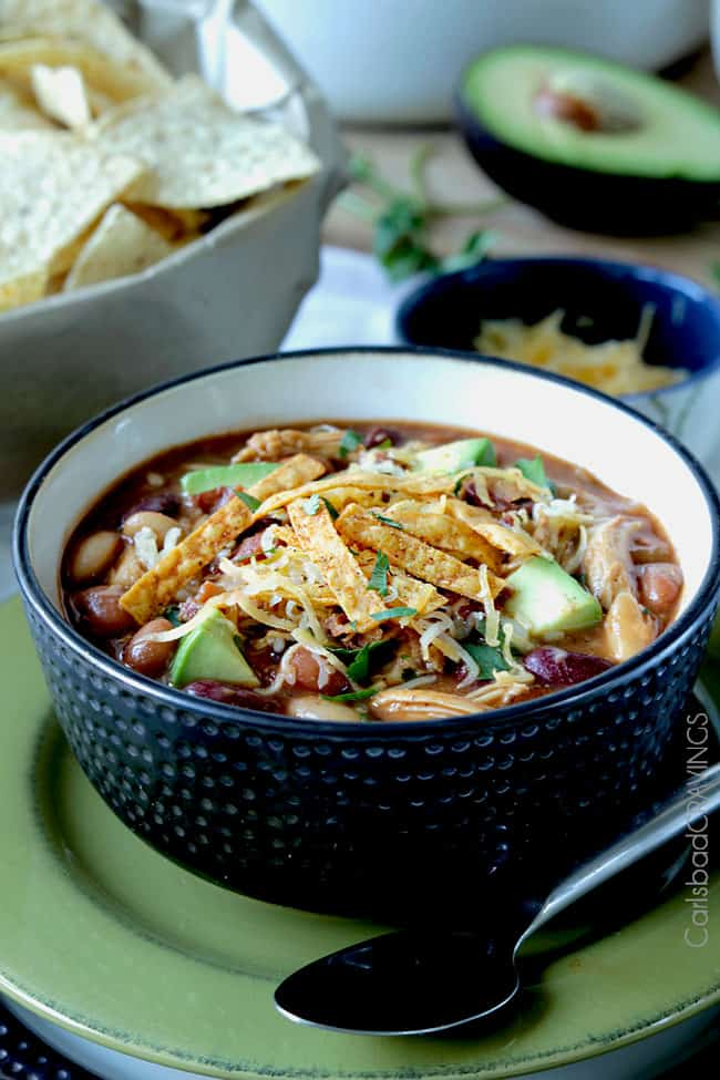 Bbq Chicken Chili Slow Cooker Or Stovetop Carlsbad