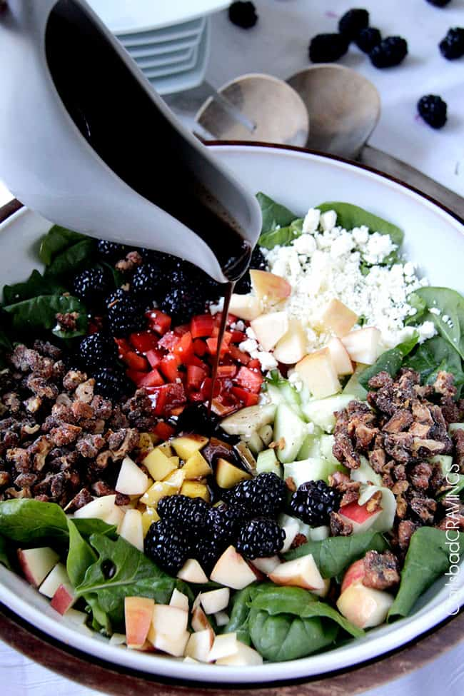 Apple Walnut Salad Recipe | Carlsbad Cravings