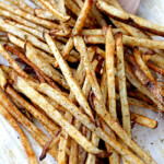 Baked Mexican French Fries with Salsa Ketchup