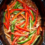 Best Slow Cooker Fajita Chicken