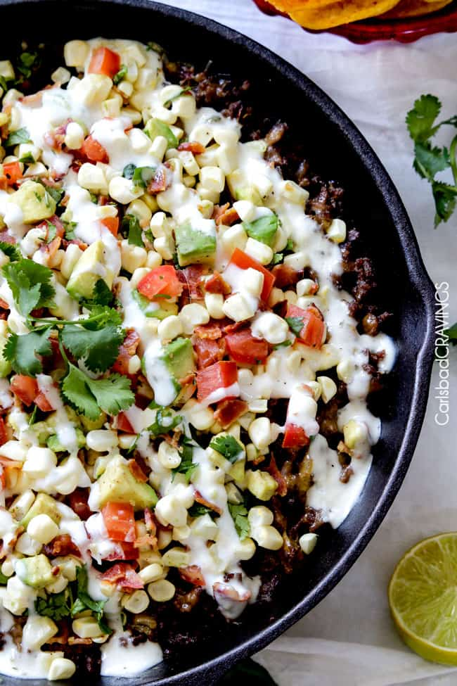 Happy Cinco De Mayo with this Ranch Taco Bean Dip with Fresh Corn ...