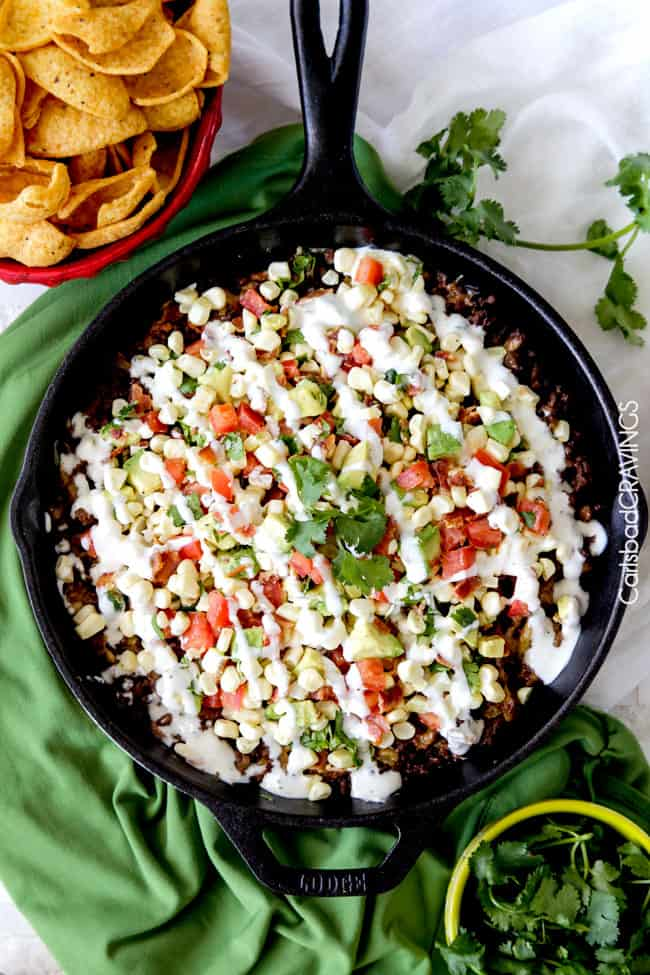 Taco Ranch Dip Recipe — Dishmaps
