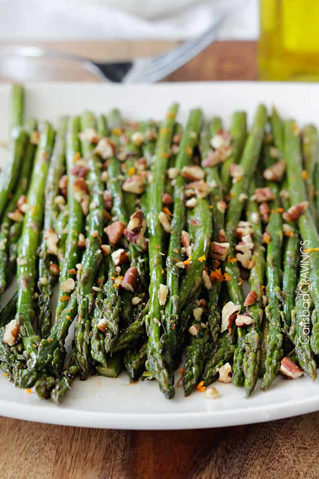 Roasted Asparagus with Balsamic Brown Butter - Carlsbad ...